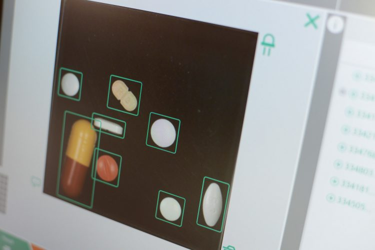 Korrekte Tabletten erkannt
